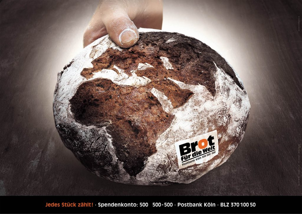 Brot für die Welt  Foto: freitagundhäussermann / VISCOM Fotografie Modell: Ralf Stemke Bäcker: Frank Stemke