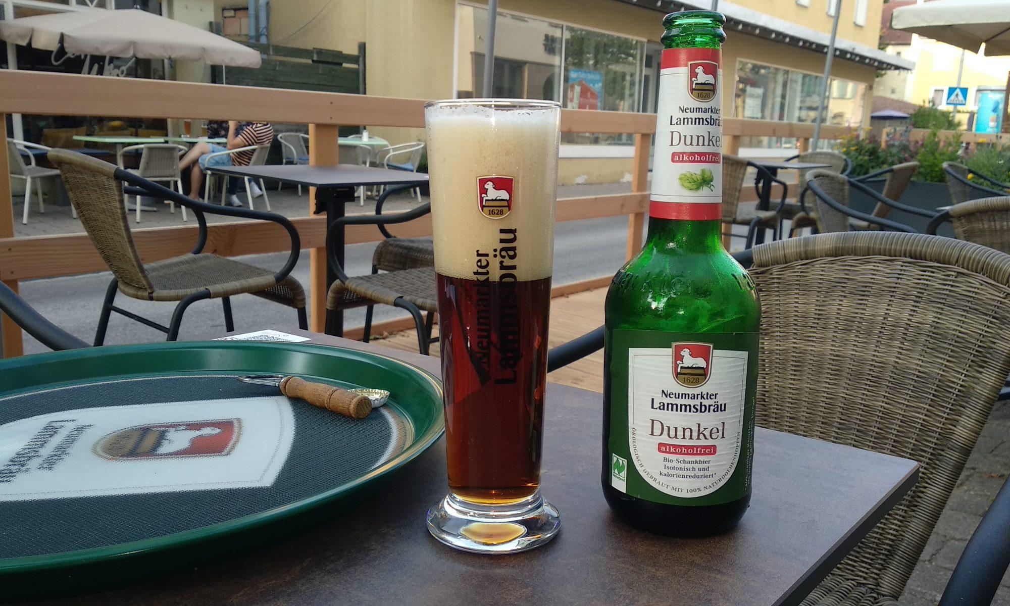 Lammsbräu im Café Stemke